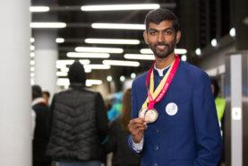 S Aswatha Narayana represented Odisha won the Gold medal in Water Technology