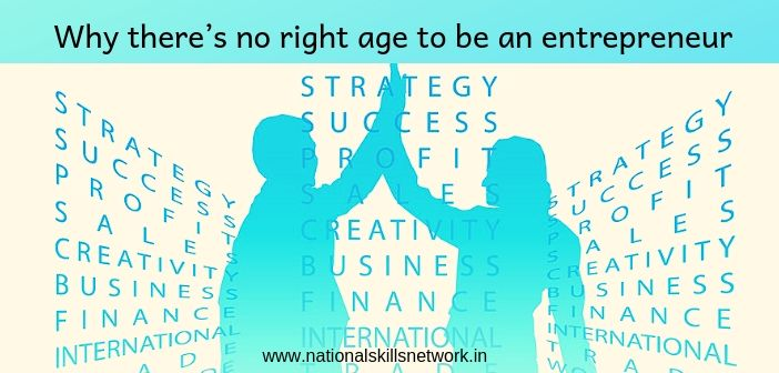 Why there's no right age to be an entrepreneur