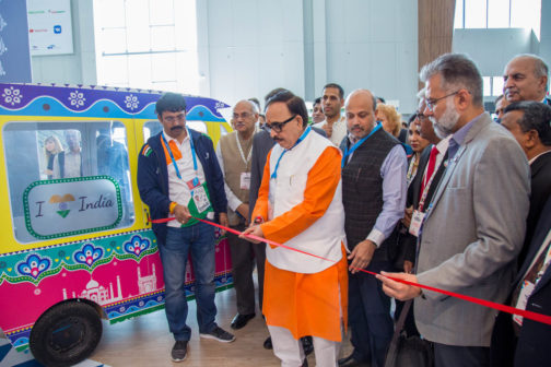 Inauguration of the India Pavilion at WorldSkills Kazan 2019