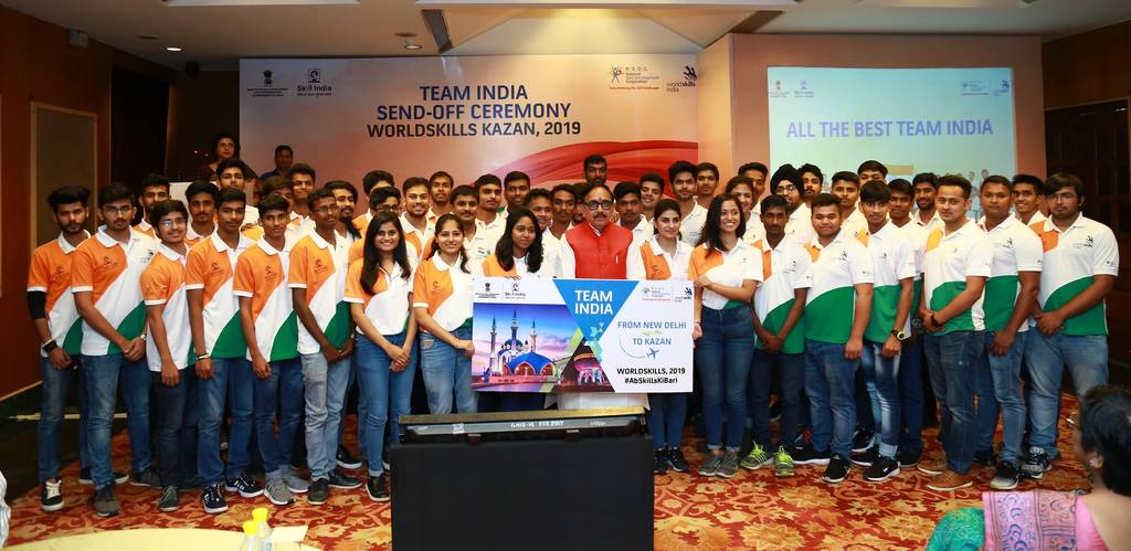 team_india_send_off_ceremony_for_worldskills_kazan_2019
