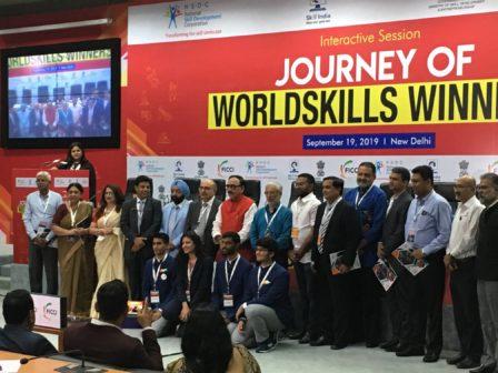 FICCI WorldSkills Winners
