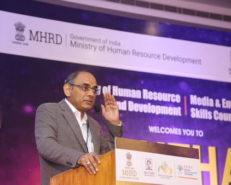 Subba Rao MHRD at Manthan