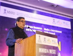 Subhash Ghai at Manthan from MESC and MHRD