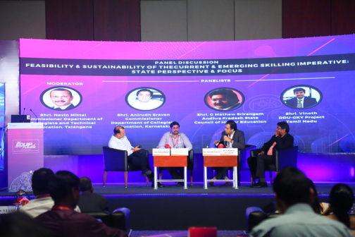 Panel discussion at NASSCOM Future Skills