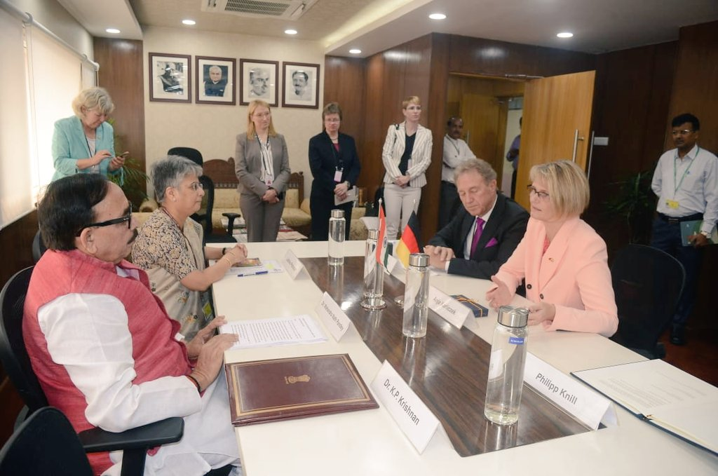India strengthens its partnership with Germany on the skills agenda through Joint Declaration of Intent (JDoI) with BMZ
