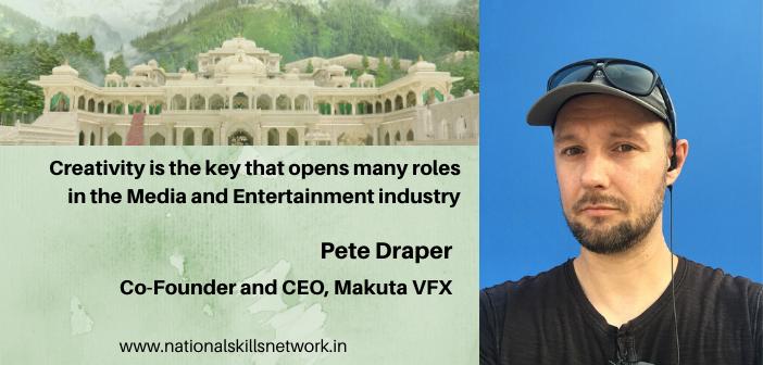 Pete Draper CEO Makuta VFX