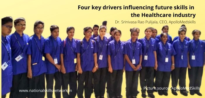 Four key drivers influencing future skills in the Healthcare industry