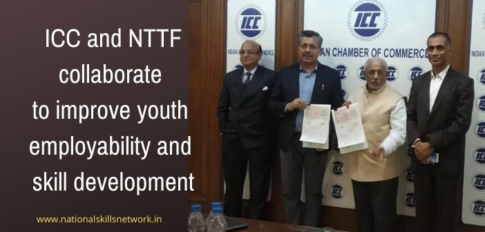 ICC and NTTF collaborate to improve youth employability and skill development