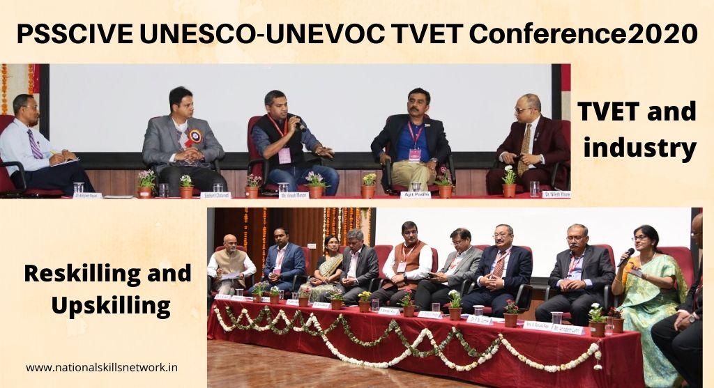 PSSCIVE UNESCO UNEVOCTVET Conference Reskilling and Upskilling