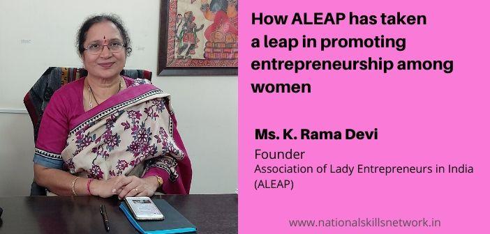 ALEAP promoting entrepreneurship among women