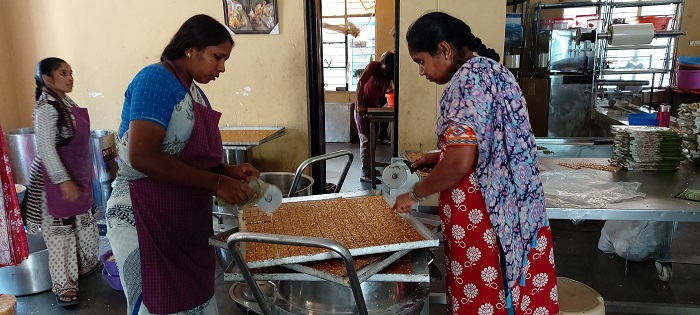 Food processing unit at ALEAP