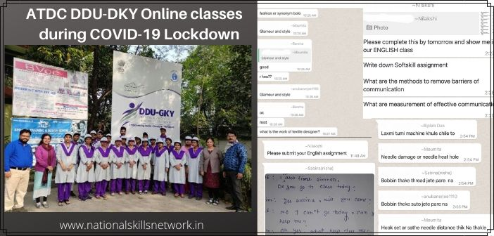 ATDC goes online to deliver DDU-GKY courses during COVID-19 crisis.1
