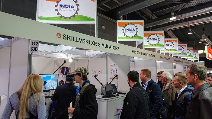 Made in India Skillveri simulators