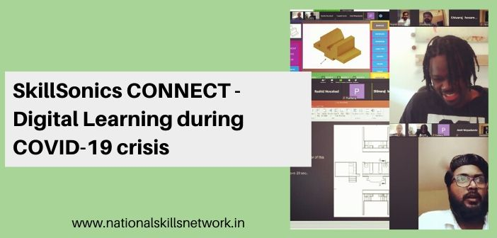 SkillSonics CONNECT - Digital Learning during COVID-19 crisis