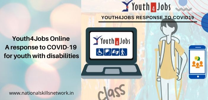 Youth4Jobs Online A response to COVID-19 for youth with disabilities