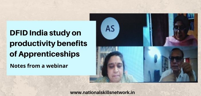 DFID India study on Productivity Benefits of Apprenticeship