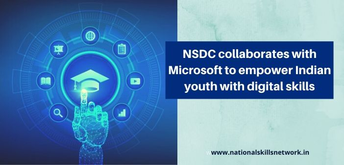 NSDC collaborates with Microsoft
