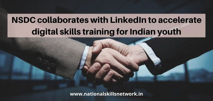 NSDC collaborates with LinkedIn