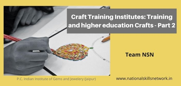 Craft Training Institutes - training and higher education