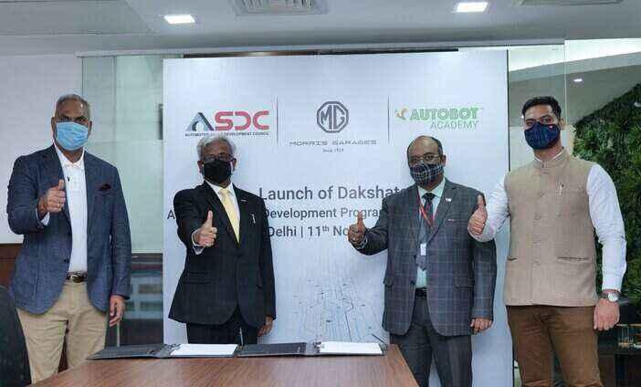 MG Motors launches 'Dakshata' in partnership with ASDC