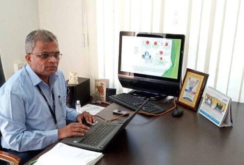 Mr Sudhindra Rao Sunkad Principal NTTF Dharward