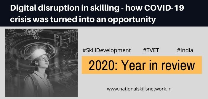 Digital disruption in skilling - how COVID-19 crisis was turned into an opportunity