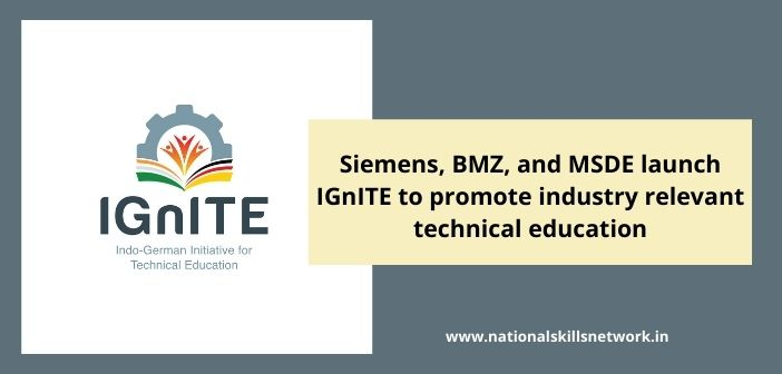 Siemens, BMZ, and MSDE launch IGnITE