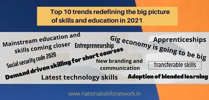 Top 10 trends redefining the big picture of skills and education in 2021
