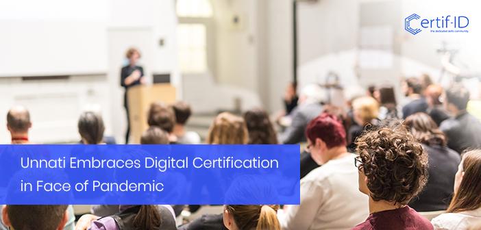 Unnati issues digital certificates