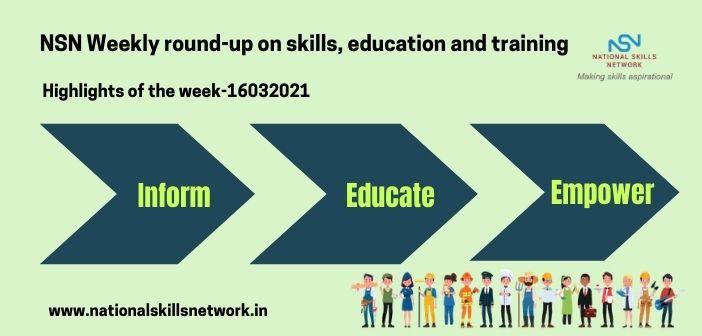 Newsbytes on Skill Development and Vocational Training