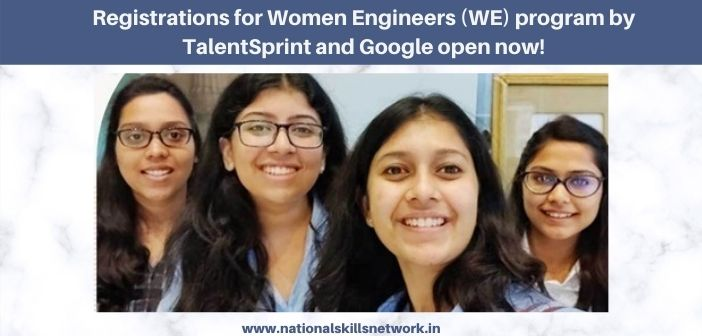 Registrations for Women Engineers (WE)
