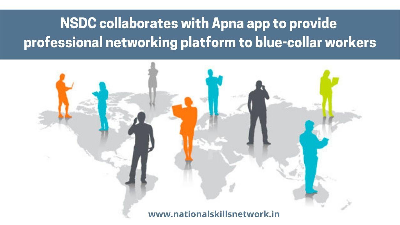 NSDC collaborates with Apna