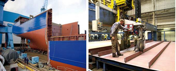Welding in shipbuilding Skills, training, and careers