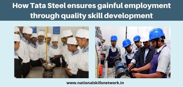 Tata Steel ensures gainful employment