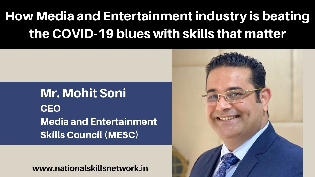 Here's how Media and Entertainment industry is beating the COVID-19 blues with skills that matter