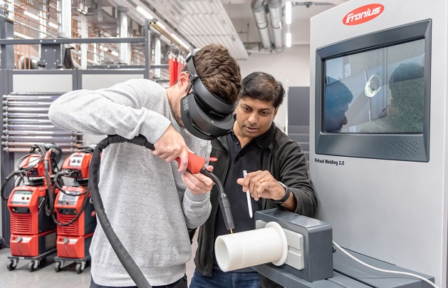 The evolving role of a welding trainer