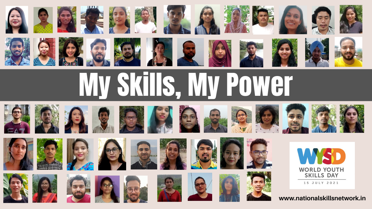 NSN celebrates World Youth Skills Day 2021 with My Skills My Power