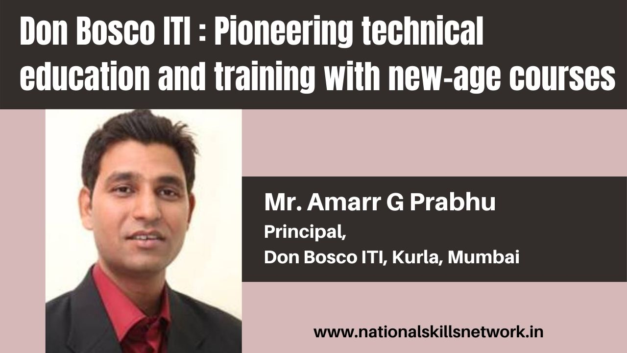 Don Bosco ITI Pioneering technical education and training with new-age courses
