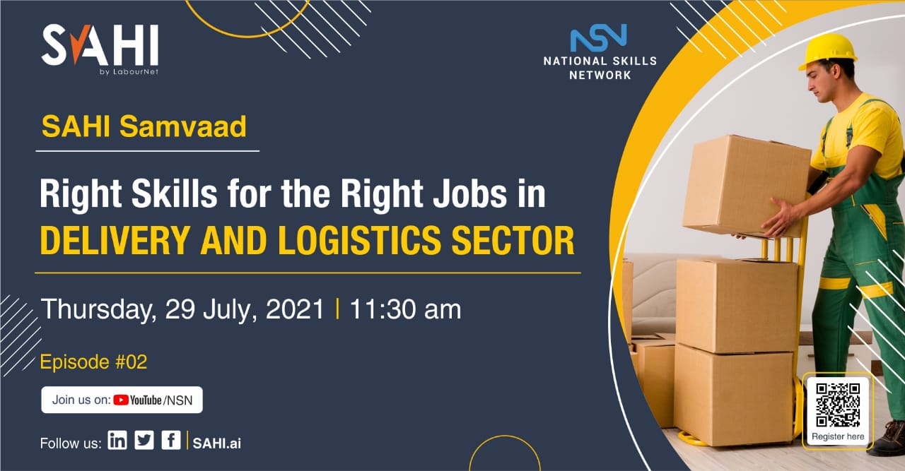 Right skills and right jobs in the delivery and logistics sector