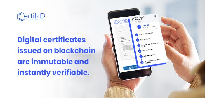Blockchain-Based Digital Certificates