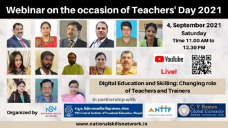 Digital Education and Skilling Changing role of Teachers and Trainers