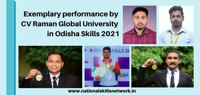CV Raman Global University students
