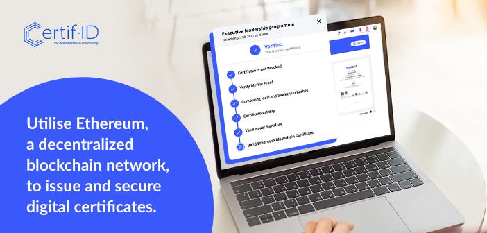 Ethereum-Based Digital Certificate